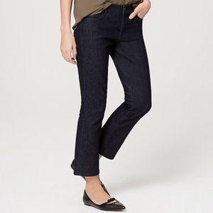 Ann Taylor Loft Modern Kick Crop Jeans
